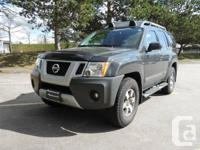 Available for sale: '11 Xterra 4WD SUV.  Exterior: