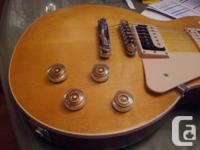 2011 Les Paul Typical, Satin Finish, Level top in