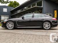2011 Porsche Panamera 4. Colour: Black. Gas mileage: