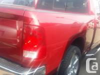 Make Ram Model 1500 Year 2011 Colour Red kms 95248