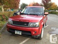 2011 Range Rover Sport HSE Luxury package. Only