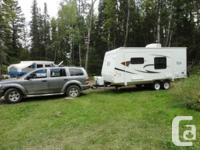Selling our trailer as we are upgrading. 2011 Forest