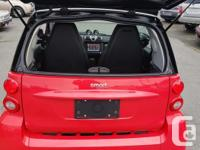 Make Smart Model Fortwo Year 2011 Colour RED / BLACK