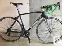 Specialized Tarmac Elite SL2 road bike in excellent