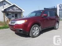 Make Subaru Model Forester Year 2011 Colour RED kms