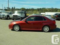 Make Subaru Model Impreza Year 2011 Colour Burgundy