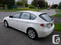Make Subaru Model Impreza Year 2011 Colour White kms