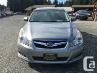 Make Subaru Model Legacy Year 2011 Colour Silver kms