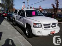 Make. Dodge. Model. Dakota. Year. 2011. Colour. White.