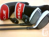 SELLING A PAIR OF 2011 LEFT HANDED TAYLORMADE TP RESCUE
