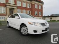 Make Toyota Model Camry Year 2011 Colour White kms