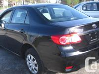 Make Toyota Model Corolla Year 2011 Colour BLACK kms