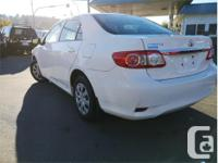 Make Toyota Model Corolla Year 2011 Colour White kms