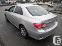Make Toyota Model Corolla CE Year 2011 Colour SILVER