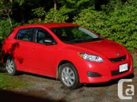 Make Toyota Model Matrix Year 2011 Colour Red kms