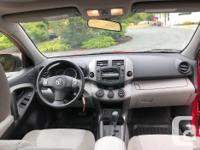 Make Toyota Model RAV4 Year 2011 Colour Red kms 112000