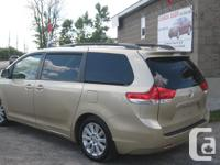 Make Toyota Model Sienna Year 2011 Colour GOLD kms