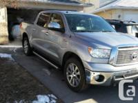 Make Toyota Model Tundra Year 2011 Colour Silver kms