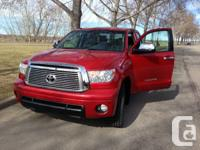 2011 Toyota Tundra Limited, 5.7L V8 comes with: