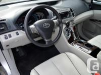 Make Toyota Model Venza Year 2011 Colour Silver kms