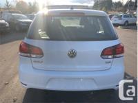 Make Volkswagen Model Golf Year 2011 Colour White kms