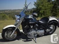2011 Yamaha XV 1100 V/Star Classic Final Edition 6,075 for sale  Alberta