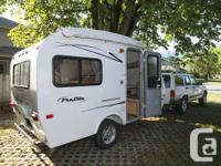 Light in weight 2012 travel trailer for rent. Just