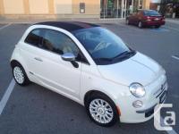 Make. Fiat. Model. 500. Year. 2012. Colour. White.