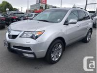 Make Acura Model MDX Year 2012 Colour Silver kms