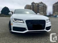 Make Audi Model A7 Year 2012 Colour white kms 92000