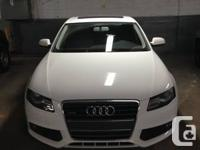 Up for lease transfer is a 2012 Audi A4 Quattro with