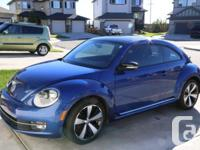 Make. Volkswagen. Model. Beetle. Year. 2012. Colour.
