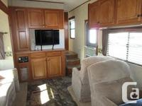 Nice unit for a couple to travel with or go seasonal.