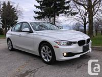 2012 BMW 320I, Auto, NO ACCIDENTS, 1 owner, Ontario