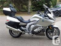 2012 BMW K1600GTL Premium Loaded motorcycle. One of the