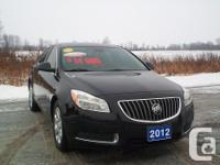 Make. Buick. Model. Regal. Year. 2012. Colour. Black.