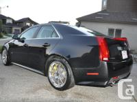 Make Cadillac Model CTS-V Colour Black Trans Automatic