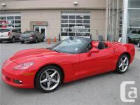 2012 Chevrolet Corvette, 6.2L V8, Red with Black