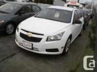 Make Chevrolet Model Cruze Year 2012 Colour White kms