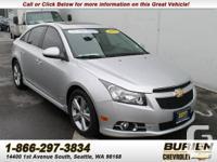Year: 2012 Make: Chevrolet Model: Cruze Trim: LT Body:4