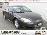 Year: 2012 Make: Chevrolet Model: Impala Trim: LT