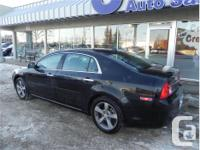 Make Chevrolet Model Malibu Year 2012 Colour Black kms