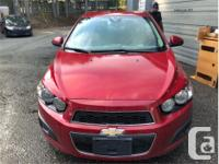 Make Chevrolet Model Sonic Year 2012 Colour Red kms