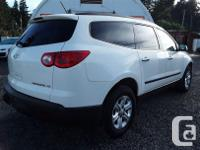 Make Chevrolet Model Traverse Year 2012 Colour white