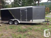 2012 Continental Cargo enclosed trailer.  A must see!