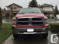 Make Ram Model 1500 Year 2012 Colour Deep Cherry Red