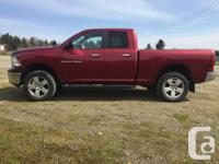 Make Dodge Model 1500 Year 2012 Colour Deep Cherry Red