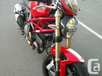 Make Ducati Year 2012 kms 17000 Selling my 2012 monster