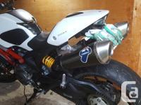 Make Ducati Year 2012 kms 21000 Selling my