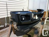 Replaced the front bumper from my 2012 F250 with an
